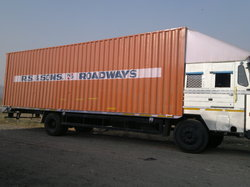 Choose 32 Ft Container Vehicle to Transport Industrial Goods Delhi/Ncr To all india