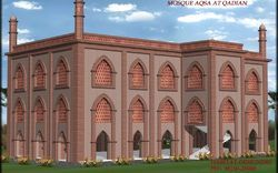 Qadian Mosque Construction Service