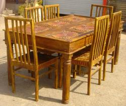 Painted Dining Table