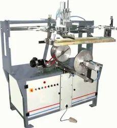 Semi Auto Round Screen Printing Machine