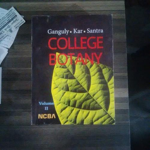 College Botany Book