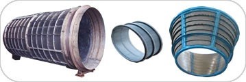 Welded Wedge Wire Screens