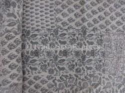 Grey Color Theme Patchwork Bedding Bedspread