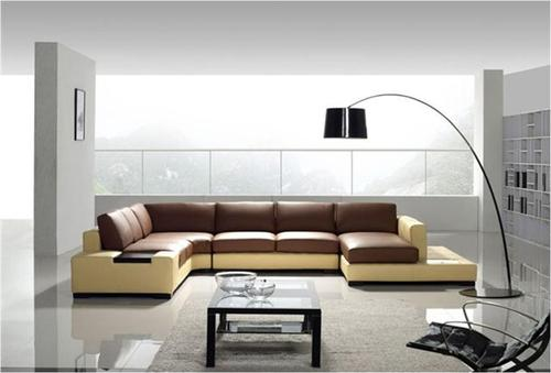 Lobby Leather Sofa