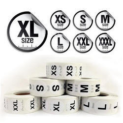 Garment Size Labels