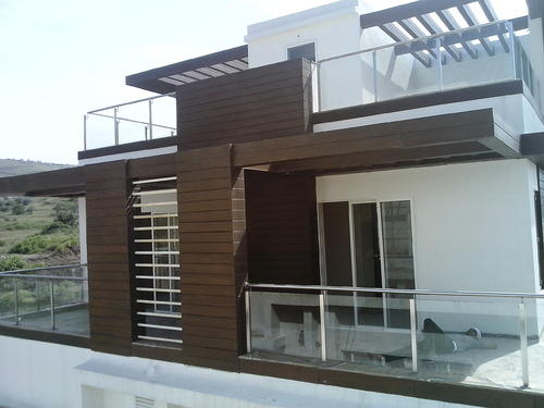 Bungalow Balcony Ss Cum Glass Railing Dharti Metal