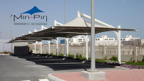 Conical Tensile Parking Gazebos Awnings Canopies Sheds