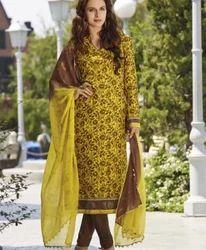Bhagalpuri Silk Salwar Kameez