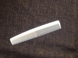 White Handle Combs