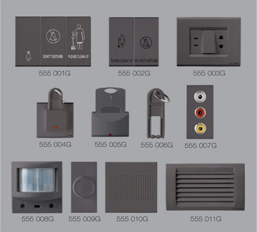 graphite grey hotel hospitality switches manufacturer from chennai