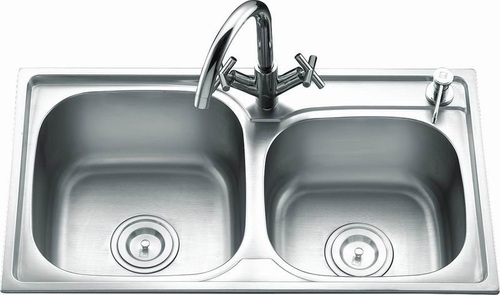 Double Bowl Sink Size