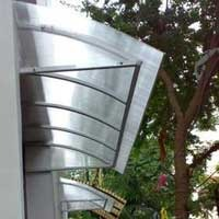 Polycarbonate Awning - Manufacturers & Suppliers of PC Awning