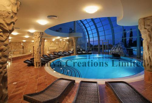 Indoor Swimming Pool Design in Moti Nagar, New Delhi | ID: 3706331688