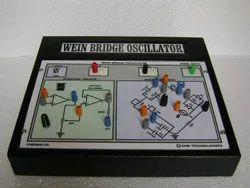 Transistor Wien Bridge Oscillator