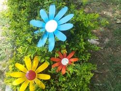 Decorative Metal Flowers
