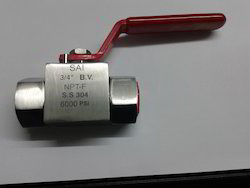 2 Way High Pressure Ball Valve
