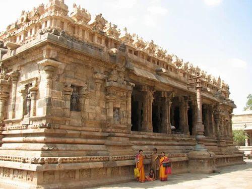 Airateswara Temple, Tamil Nadu Tourism Darasuram | Othavadai Cross