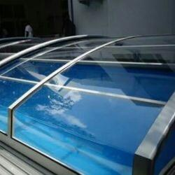 Transparent Swimming Pool Cover
