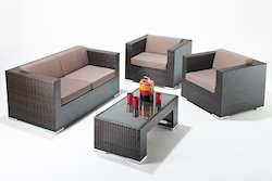 Wicker Aluminum Sofa