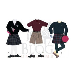 High School Girls Uniforms