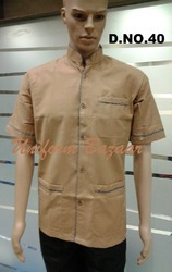 Light Brown Colour Restaurant Uniform