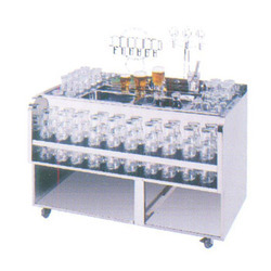 Mobile Glass Trolley