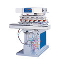 6 Color Pad Printing Machine with Shuttle System