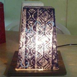 Trapazoid Black Motif Lamps
