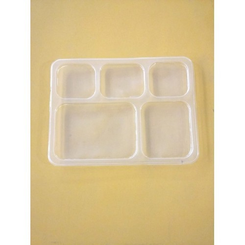 Five Compartment Disposable Plate  sc 1 st  IndiaMART & Five Compartment Disposable Plate Partition Plate - Packing India ...