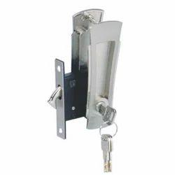Sliding Door Lock with Handle