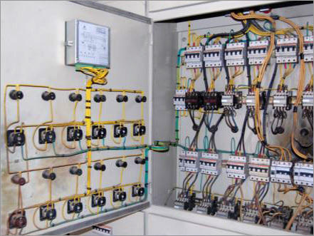 Electric Panel Board | SS Power Controls | Manufacturer in ...