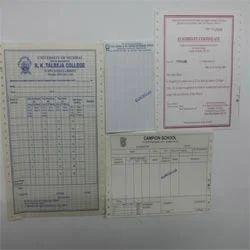 Study Materials Printing Service