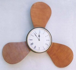 Propeller Wall Clock