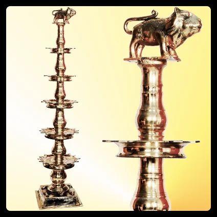 Oil Lamps Thattu Vilakku Step Lamp Service Provider
