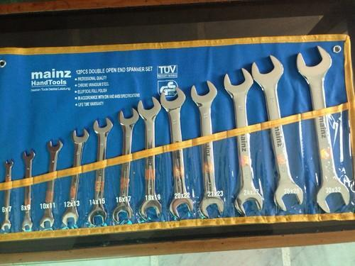 Double Open End Spanner Set - View Specifications & Details of