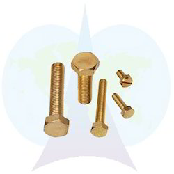 Parshva India Golden Brass Bolts, For Hardware Fitting, Size: 10 To 160 Mm