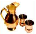 Copper Water Jug Set