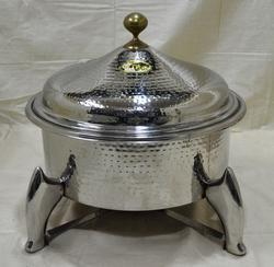 Round Hammered Bowl M26 Chafing Dishes