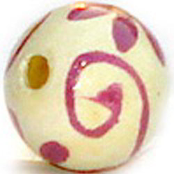 Wooden Letter Beads