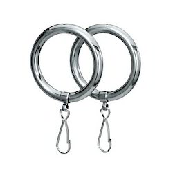 Curtain Rings, For Home, Packaging Type: Packet