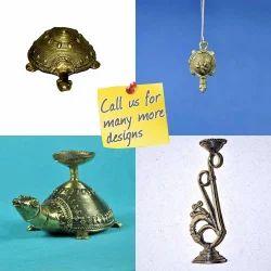 Dhokra - Bell Metal - Feng Sui Turtle Tortoise