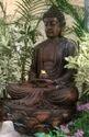 Lotus Buddha Statue with Fountain