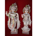 Marble Moorti of Radhe-Mohan
