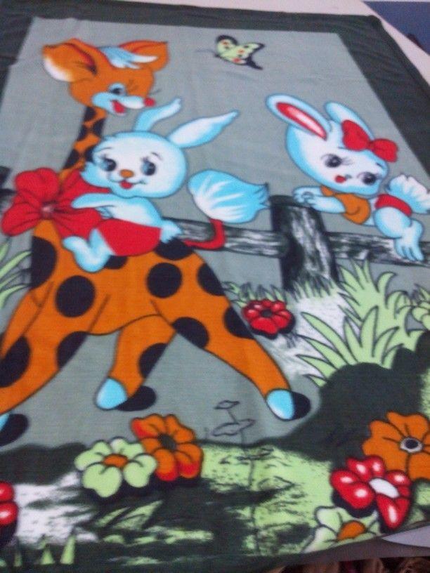 1bb7ff4a693b Baby Print Fleece Blanket