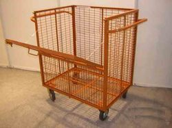 Sided Wire Mesh Trolley