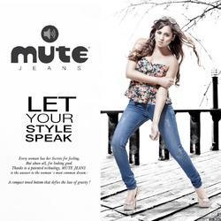 Mute Skinny Ladies Blue Casual Jeans, Waist Size: Available sizes in 28 to 40