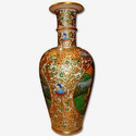 Exclusive Vase with Gold Plated Work On