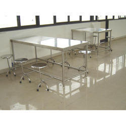 Stainless Steel Top in 304 g SS Canteen Table