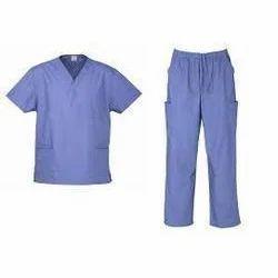 Blue Hospital Uniform, Size: Small