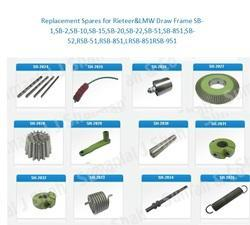 LMW Draw Frame Machine Parts
